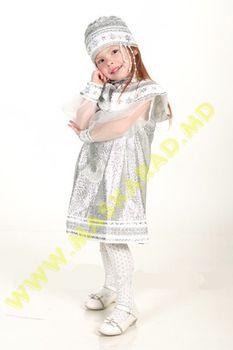 Карнавальный костюм: Зима-Снегурочка
