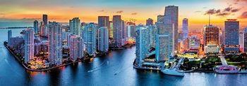 "29027 Trefl Puzzles - ""1000 Panorama"" - Miami after dark / Trefl"