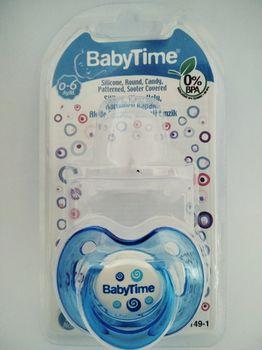 Силиконовая пустышка BabyTime BT149-1