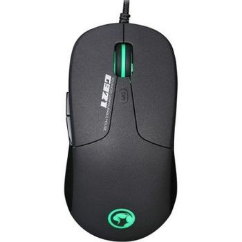 "MARVO ""G921"", Gaming Mouse, 1200/2000/2800/3600/4200/5000dpi adjustable, Optical sensor (Pixart 3325), 6 programmable buttons, RGB 16M colors, Advanced configuration, Braided cable, USB, Black"