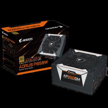 Power Supply ATX 850W GIGABYTE AORUS GP-AP850GM, 80+ Gold