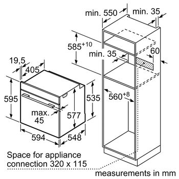 Электрический духовой шкаф Siemens HB676GOS1