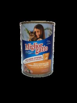 купить Miglior gatto кусочки с курицей и морковью в Кишинёве