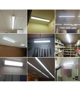 купить Светодиодный светильник линейный, накладной  6400K  18W 600 в Кишинёве
