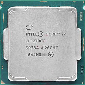 Intel® Core™ i7 7700K, S1151, 4.2-4.5GHz, 8MB L3, Intel® HD Graphics 630, 14nm 91W, tray