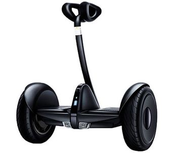 "Xiaomi Ninebot Mini Self Balancing Scooter, Black, Wheel 10.5"", Speeds of up to:16km/h, Battery capacity:22km in a single charge, Weight:12.8kg, IP54, Auto-sensing LED taillight / turn, Maximum load: 85kg, Remote control via Smartphone"