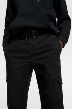 Брюки ZARA Чёрный 9252/300/800