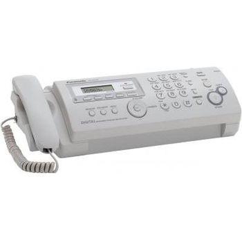 Thermal Transfer Fax PANASONIC KX-FP207UA White, LCD,Caller ID, АОН, печать по принципу термопереноса, кнопка навигации, автоподатчик на 10 листов, лоток на 20 листов, двухстрочный дисплей (русский язык), отложенная передача, функция копирования