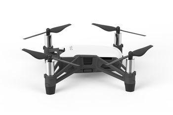 (162916) DJI Ryze Tello (Global) - Toy Drone, 5MP,  HD720p 30fps camera, max. 100m height/28.8kmph speed, flight time 13min, Battery 1100mAh, 80g, White
