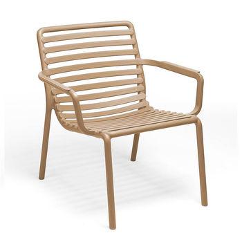Лаунж Кресло Nardi DOGA RELAX CAPPUCCINO 40256.14.000 (Лаунж Кресло для сада и террасы)