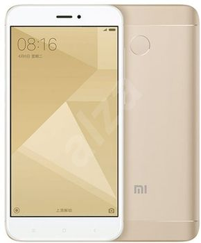 "Xiaomi RedMi 4X EU 32GB Gold,  DualSIM, 5.0"" 720x1280 IPS, Snapdragon 435, Octa-Core 2.0GHz, 3GB RAM, Adreno 505, microSD (SIM 2 slot), 13MP/5MP, LED flash, 4100mAh, WiFi-N/BT4.1, FM-Radio, LTE, Android 6.0.1(MIUI 8), Infrared port, Fingerprint"