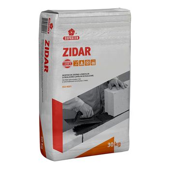Supraten Кладочный раствор Zidar серый 30кг
