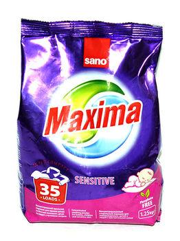 купить Порошок для стирки Sano Maxima Sensitive 1,25 кг в Кишинёве