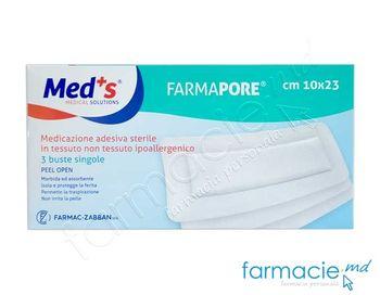 купить Pansament-emplastru steril hipoalergic 10cmx23cm N3 (Med'S)(1206321023M)( TVA 20%) в Кишинёве