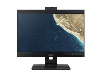 All-in-One PC - 23.8''  ACER Veriton Z4860G, FHD IPS (DQ.VRZME.012) Intel® Core® i3-8100 3.6GHz, 8GB DDR4, 256GB SSD, CR, DVD-RW, Intel® UHD, VGA, DP, USB-C, COM-port, VESA, 2.0 MP FHD cam, Wi-Fi-AC/BT5, wireless KB&MS, Endless OS, Black