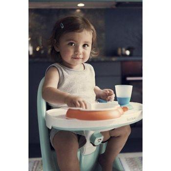 купить Набор для кормления BabyBjorn Baby Feeding Set Orange в Кишинёве