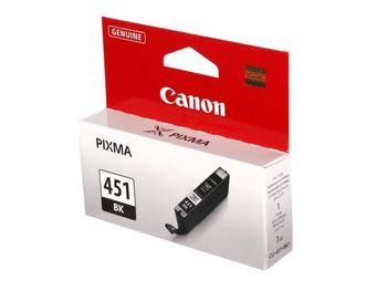 Cartridge Canon CLI-451 Bk, black, 7ml for iP7240 & MG5440,6340