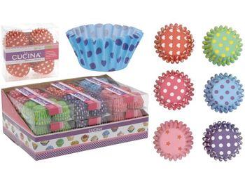 Формы для кексов бумажные Cucina 200шт, 2.5cm