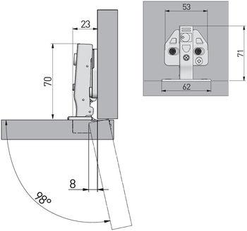 Balama aplicată cu amortizor 3D GTV