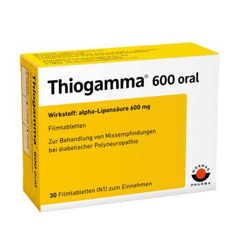 cumpără Thiogamma oral 600mg comp. film. N30 în Chișinău