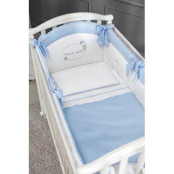 купить Комплект постельного белья Special Baby Sofia Blue (6 ед.) в Кишинёве