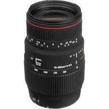 cumpără Zoom Lens Sigma AF  70-300mm f/4-5.6 APO DG MACRO F/CANON în Chișinău