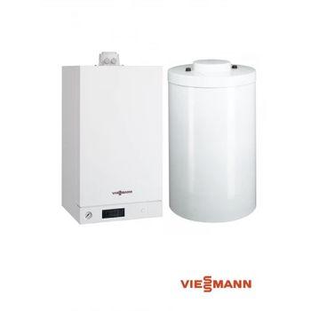 купить VIESSMANN Vitodens 100-W 26KW с подставным бойлером Vitocell на 120л в Кишинёве