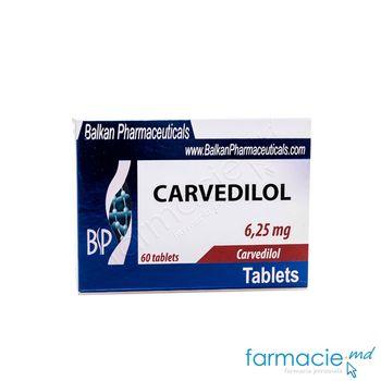 купить Carvedilol comp.6.25 mg N20x3 (Balkan) в Кишинёве