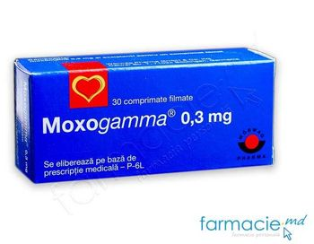 купить Moxogamma 0.3mg comp. film. N30 в Кишинёве