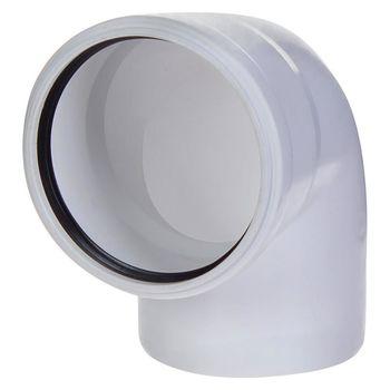 купить Отвод ПВХ белый ф. 110 x 90°  M в Кишинёве