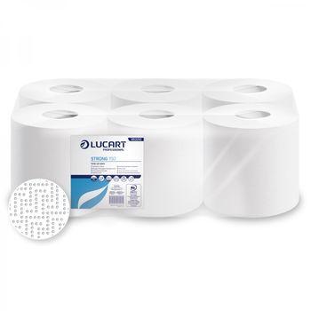 STRONG 150 Бумажные полотенца белые с центральной вытяжкой 2 слоя 600 отрывов