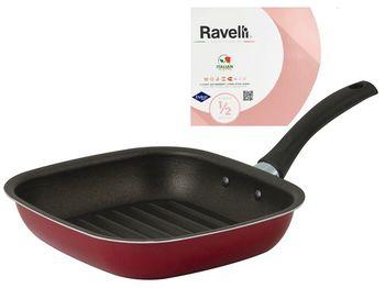 Сковорода гриль Ravelli mini 20X18cm