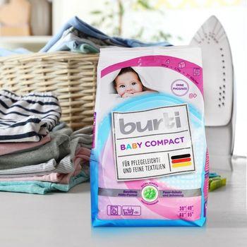 Стиральный порошок Burti Baby Compact, 900г