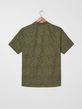 Рубашка HOUSE Зеленый с принтом
