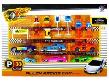 "Set de masini-model ""Racing car""15 buc,1:64,metal"