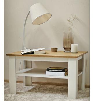 """Журнальный столик """"Blanca"""" Дуб каменный/Белый"""