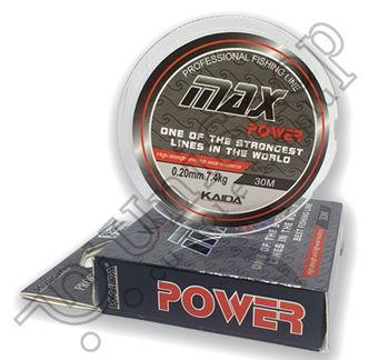 Fir Monofilament KAIDA Max Power 30m 0.20mm