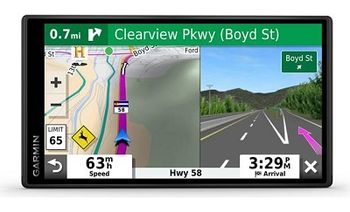 "GARMIN DriveSmart 55 & Digital Traffic, Licence map Europe+Moldova, 5.40"" LCD (1200*720), MicroSD, Garmin Guidance 2.0, Junction view, Lane assist, Foursquare POIs, Lifetime traffic updates, Speaks street names, Battery life up to 1 hours,150g"