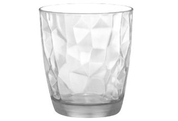 Стакан для воды Diamond 300ml, прозрачный