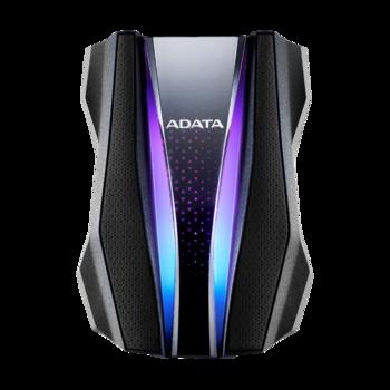 купить Внешний жесткий диск AData HD770G RGB 1Tb IP68 Rugged Black(AHD770G-1TU32G1-CBK) в Кишинёве