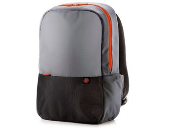 "15.6"" NB Backpack - HP Duotone Orange Backpack, Grey/Black/Orange"