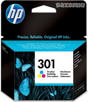HP No.301 Tri-Color ink Cartridges, DeskJet 2050, (330pages)