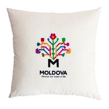 купить Декоративная эко подушка Молдова – 50x50 см в Кишинёве