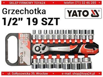 cumpără YATO SET CHEI TUBULARE CU ANTRENOR 19 elem. - 1/2 38681 în Chișinău