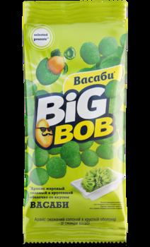 Арахис в оболочке со вкусом васаби Big Bob (60г)