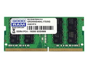 8GB DDR4-2666 SODIMM  GOODRAM, PC21300, CL19, Single Rank, 1024x8, 1.2V