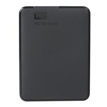 """2.5"""" External HDD 2.0TB (USB3.0)  Western Digital """"Elements"""", Grey, Durable design"""