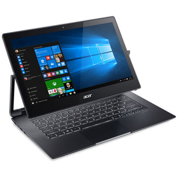 "ACER Aspire R7-372T Glass Dark Gray (NX.G8SEU.005) 13.3"" IPS TOUCH FullHD (Intel® Core™ i5-6200U 2.30-2.80GHz (Skylake), 8Gb DDR3 RAM, 256Gb SSD, Intel® HD Graphics 520, CardReader, WiFi-AC/BT4.0, 4cell, HD Webcam, RUS, Linux, 1.6kg)"