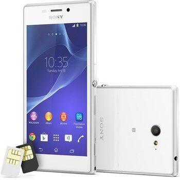 Sony Xperia M2 (D2302) 2 SIM (DUAL) White