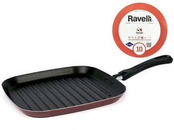 Сковорода гриль Ravelli N10 28X28cm